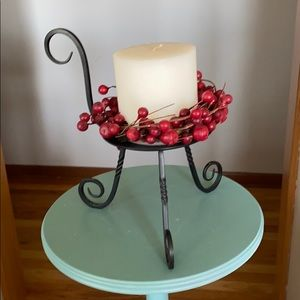 Partylite iron candle holder! Very Good quality!